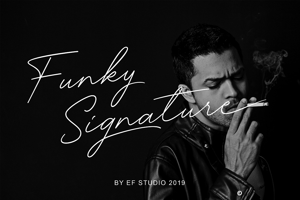 Funky Signature - Funky Fonts example image 1