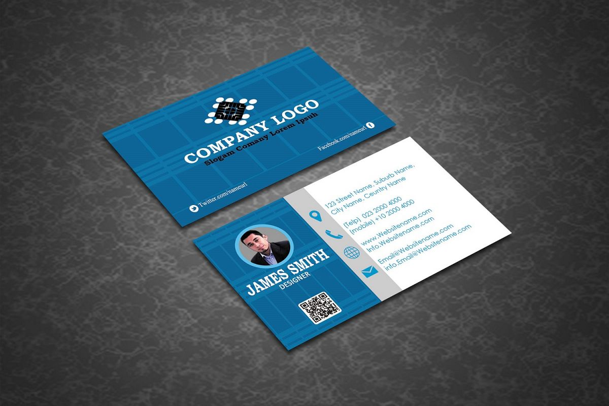 Creative Business Card Template example image 1