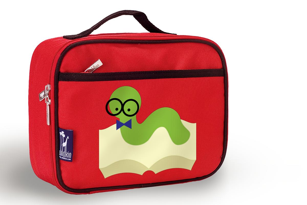 Nerdy Bookworm SVG Design example image 1