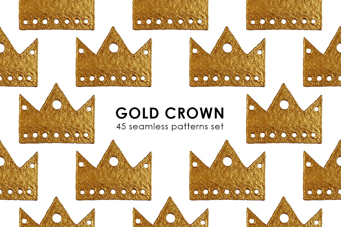 GOLD CROWN patterns example image 1
