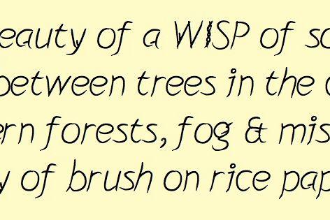 Wisp example image 1