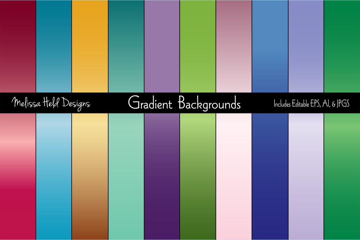Jewel Tone Gradient Backgrounds example image 1