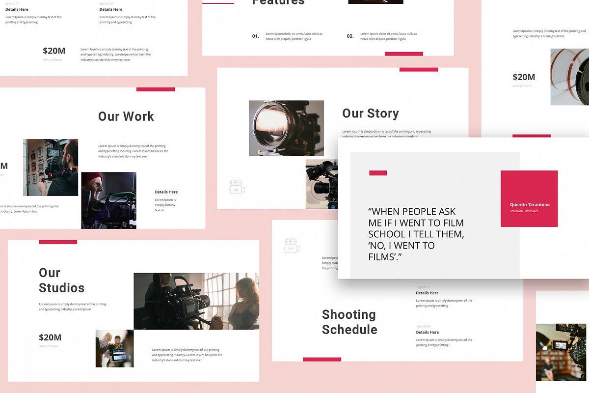Production House Google Slides example image 1