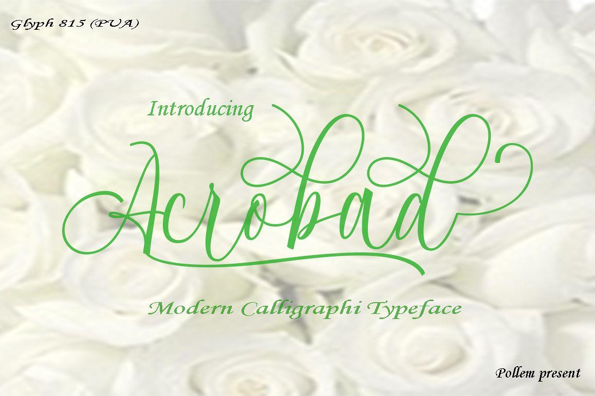 Acrobad Script example image 1