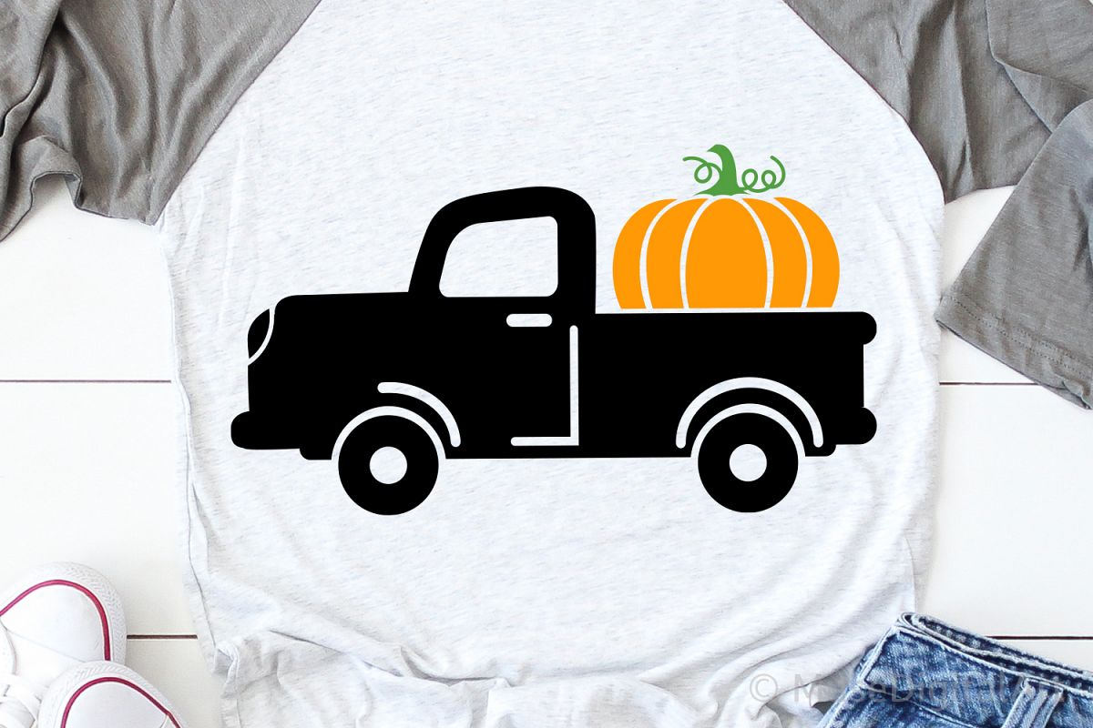 Fall Svg, Pumpkin Truck Svg, Pumpkin Patch Svg, Pumpkins Svg example image 1