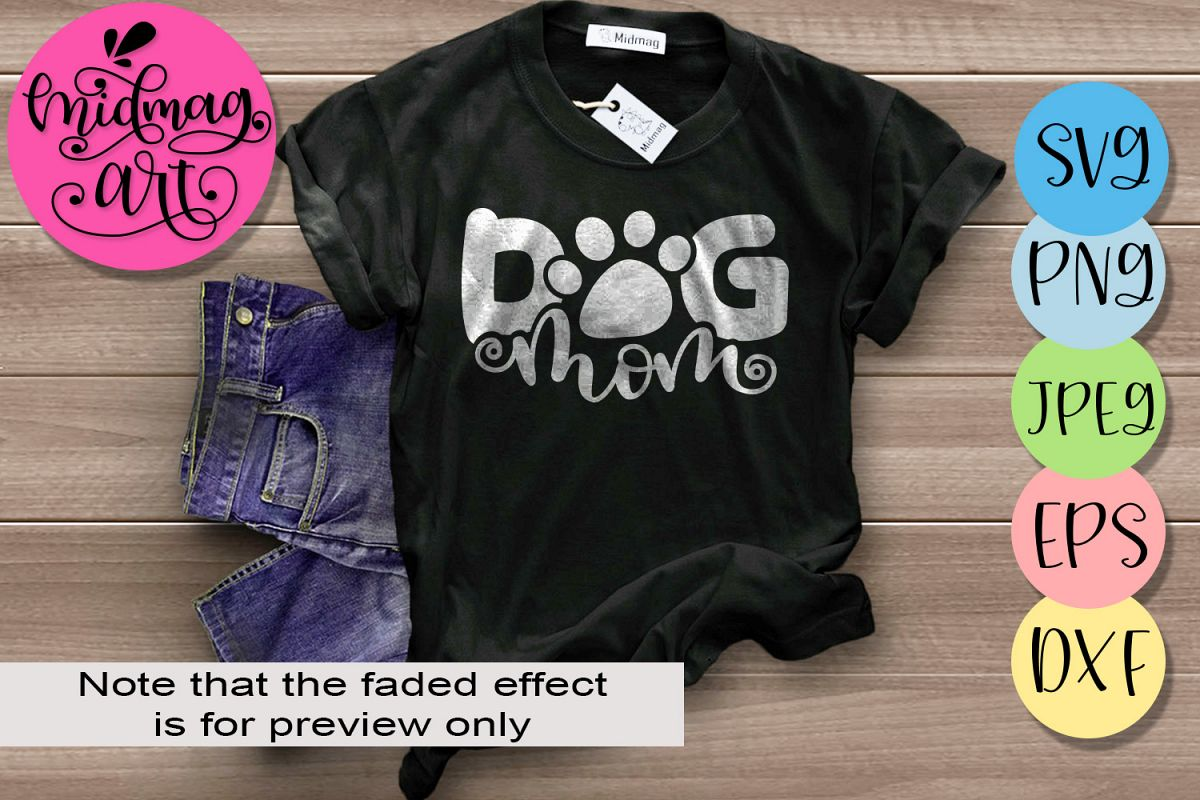 Dog mom svg, Mother's day svg example image 1