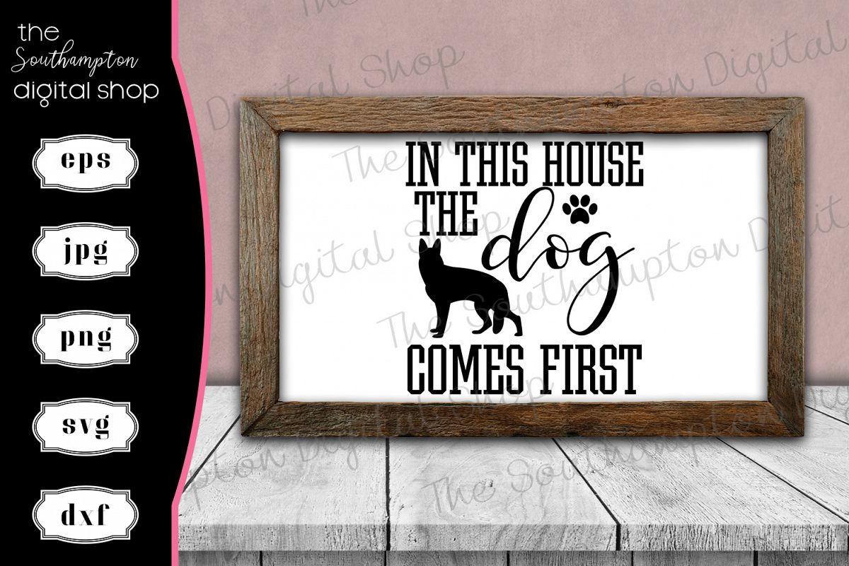 In This House the Dog Comes First example image 1
