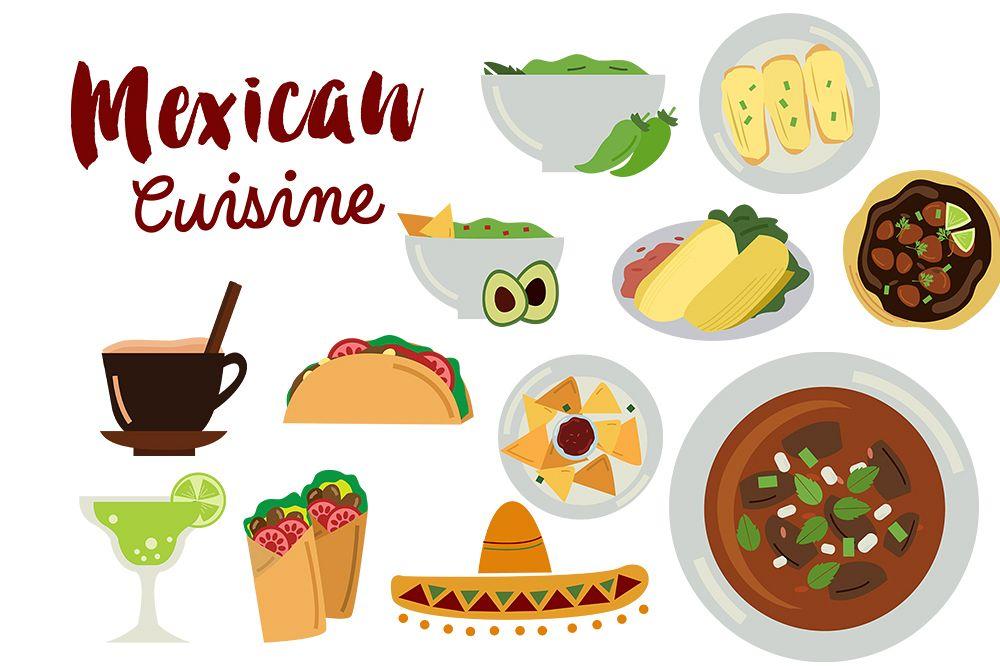 Mexican clip art, Nachos clip art, Taco clip art example image 1