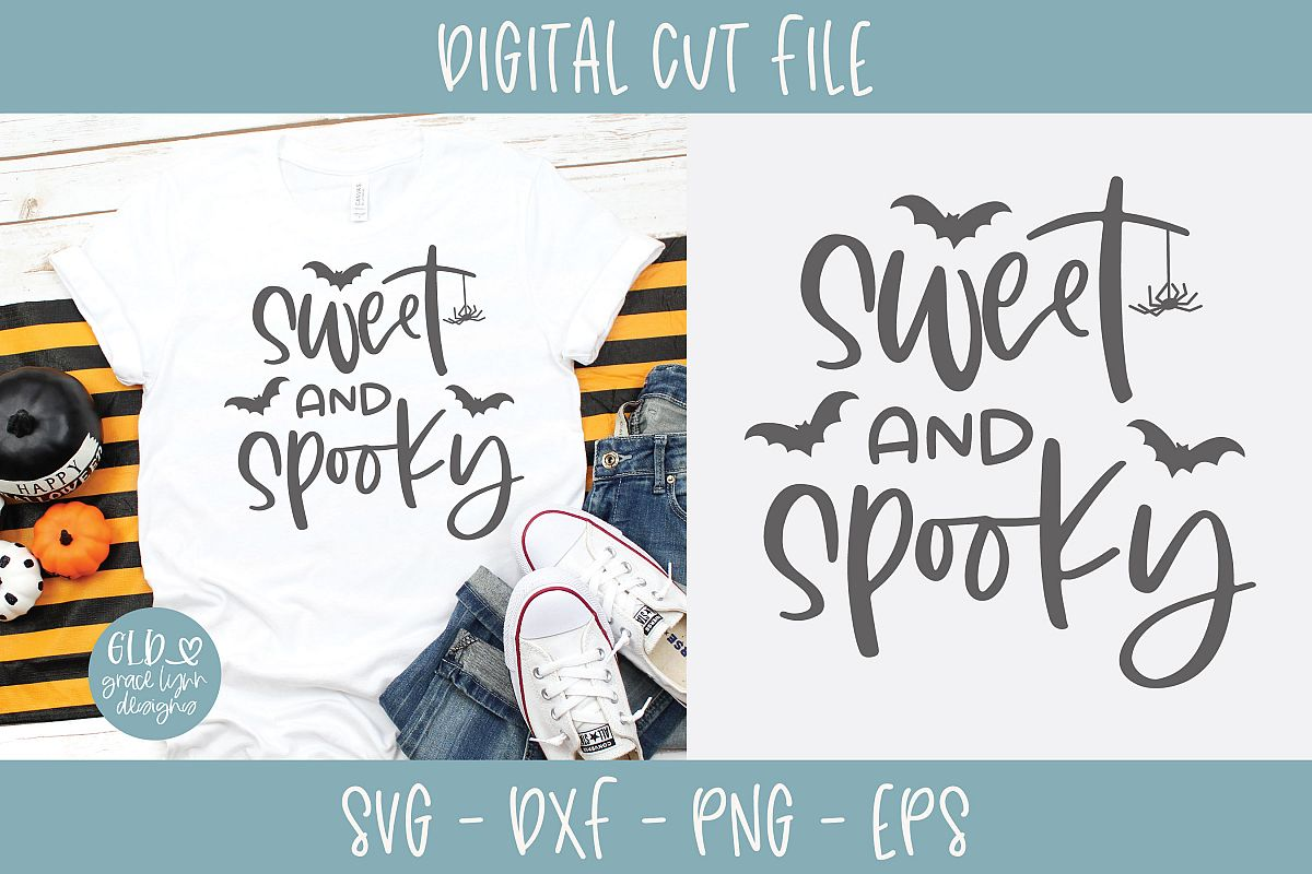 Sweet And Spooky - Halloween SVG example image 1