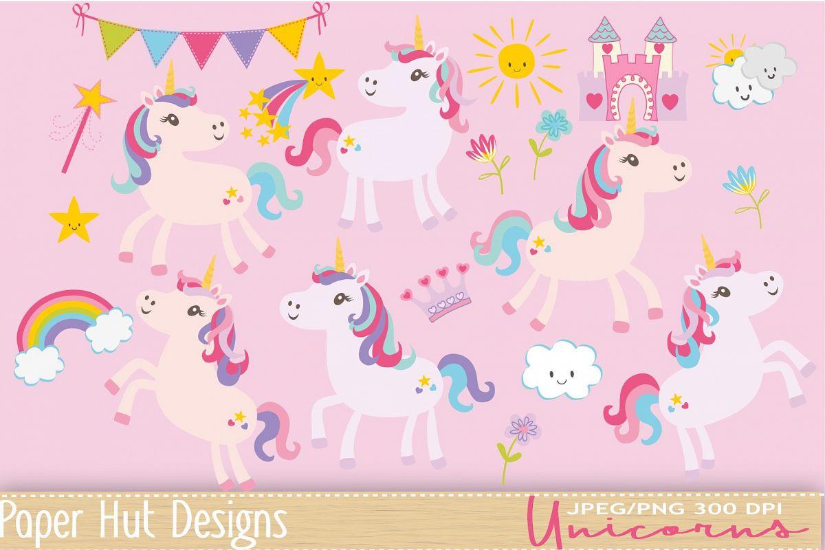Unicorn Clipart example image 1
