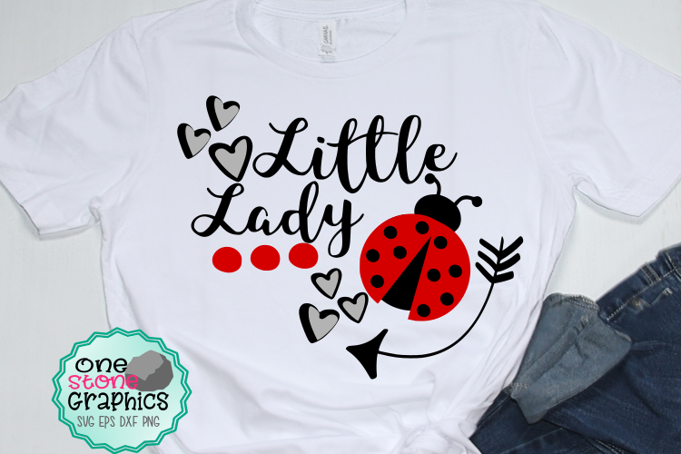 Little lady svg,ladybug svg,girl svg,cute girl svg example image 1