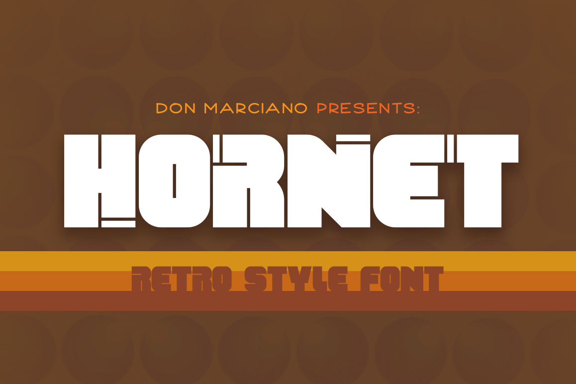 Hornet - Retro example image 1