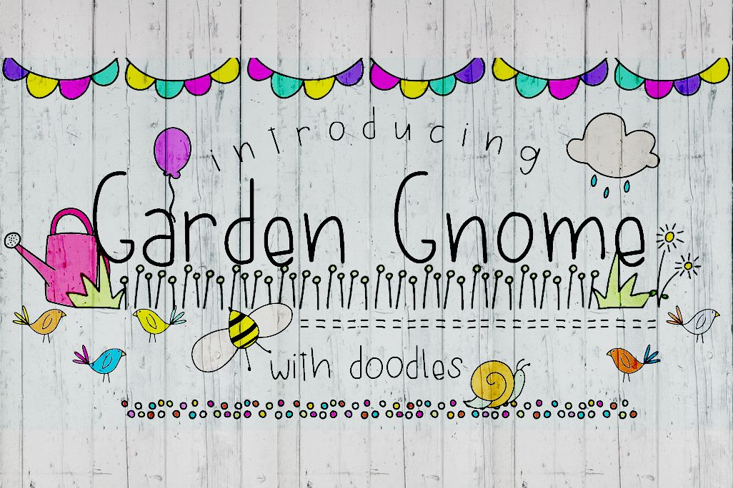 Garden Gnome Font Duo example image 1