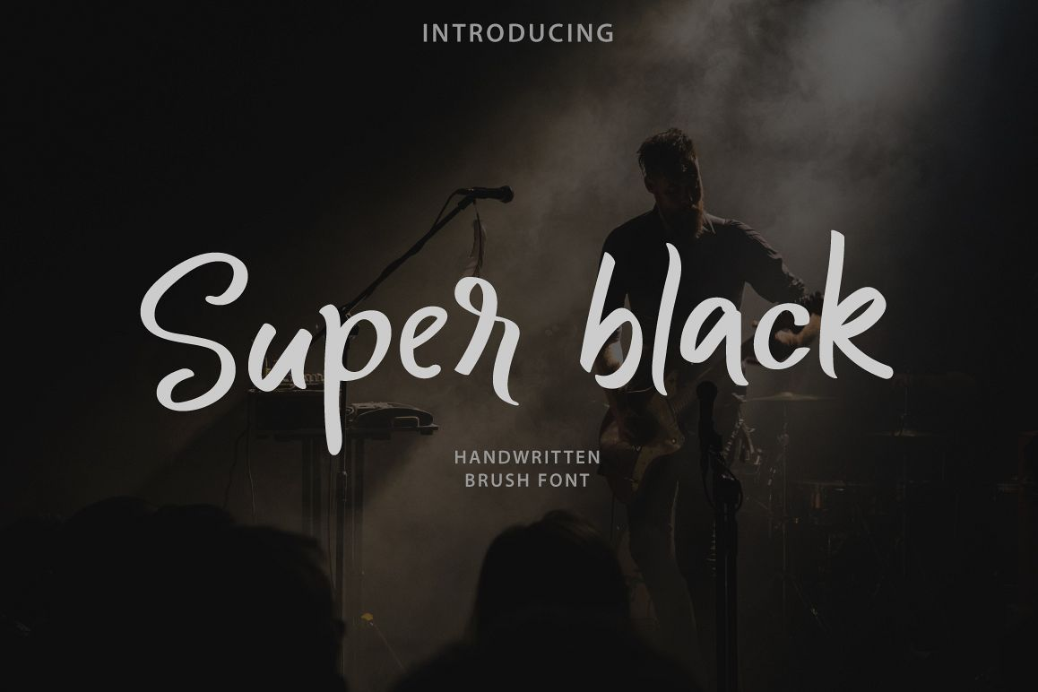 Super black example image 1