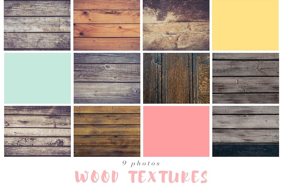 9 Wood Textures example image 1