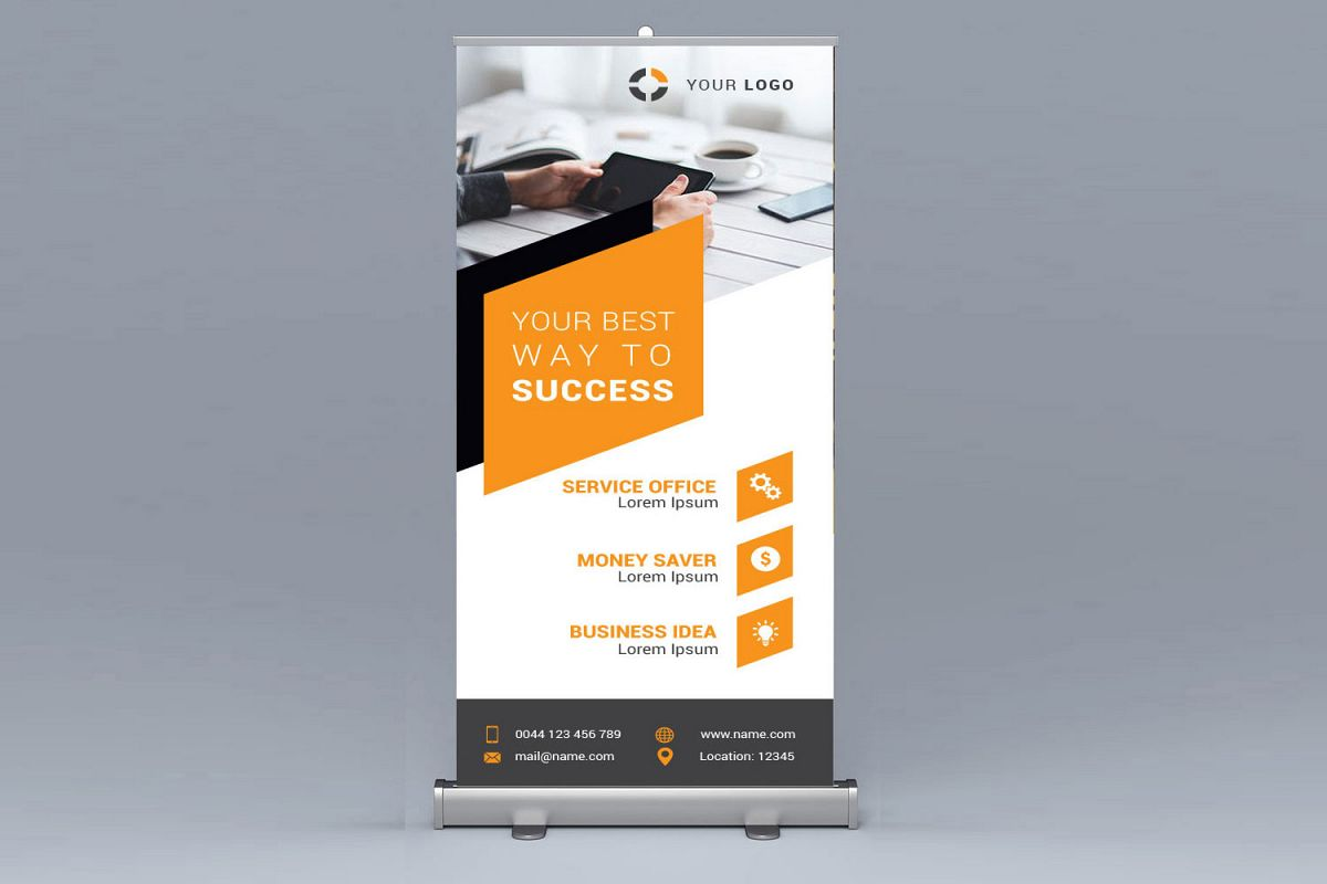 Bussiness Roll up example image 1