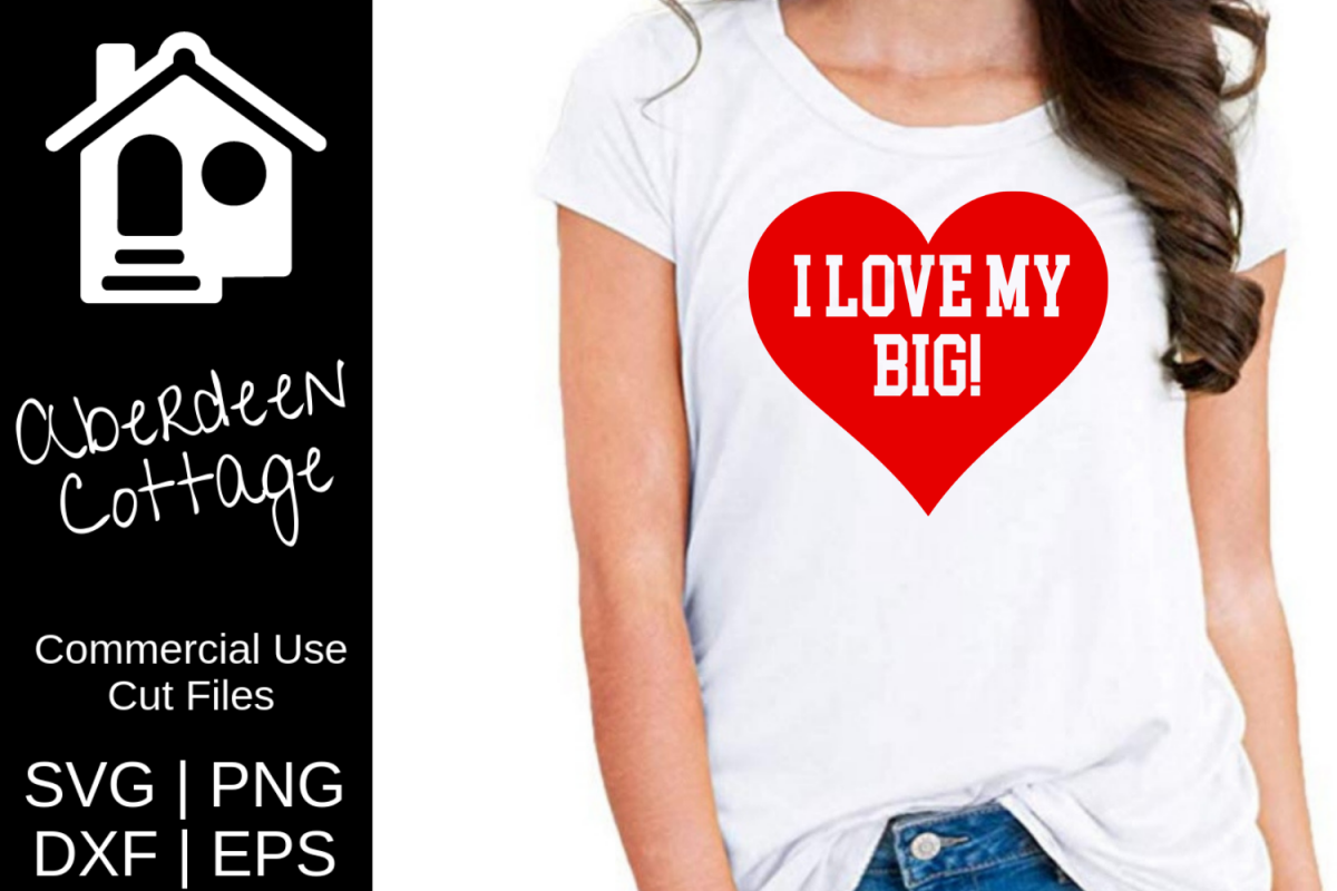 Love My Big SVG Sorority Design example image 1
