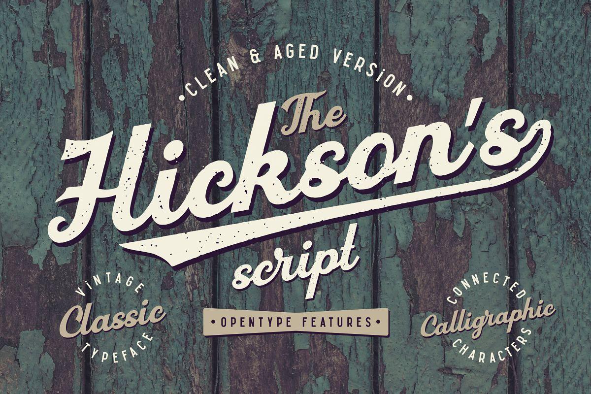 Hickson's Script Bonus example image 1