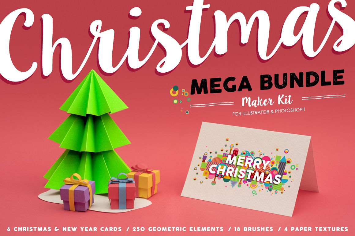 Christmas Mega Bundle Maker Kit example image 1