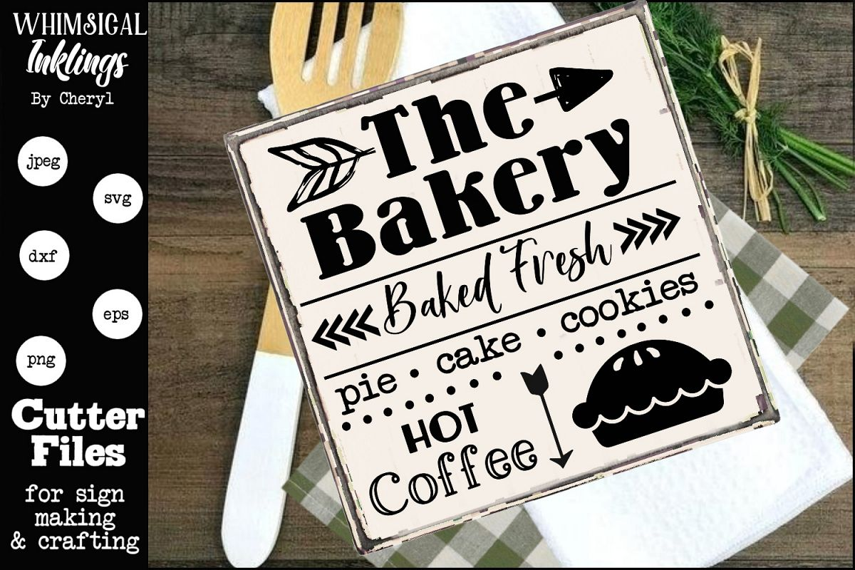 Baked Fresh- Bakery SVG example image 1