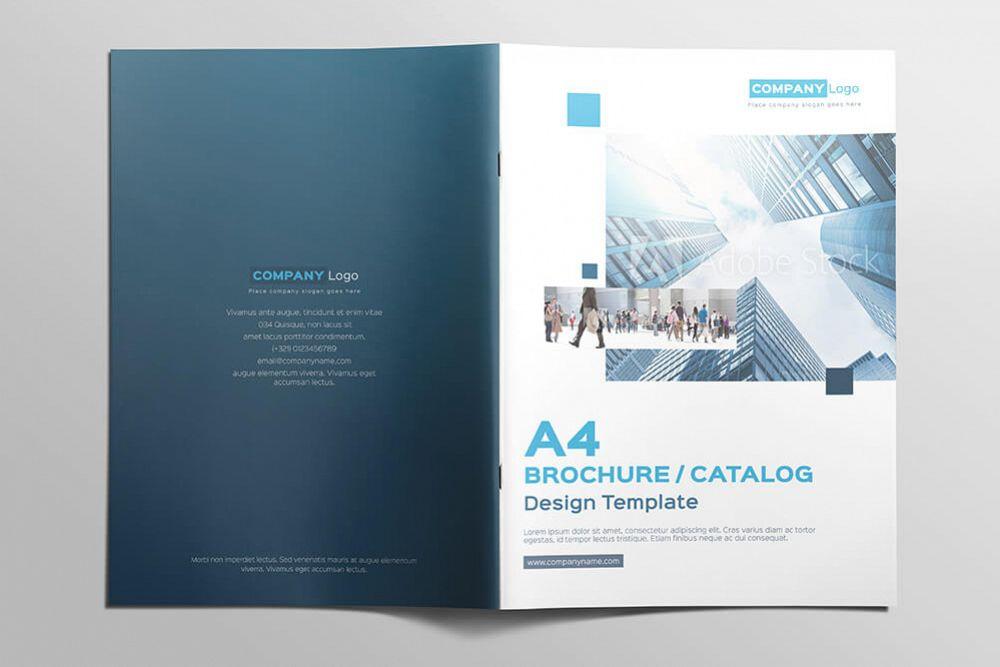 multipurpose a4 brochure catalog design template