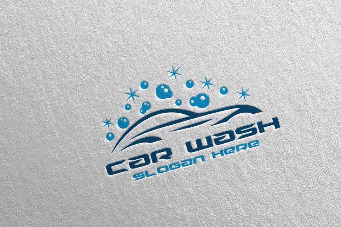Image Of Cool Car Wash Logos Car Wash Logo Design Layout Corporate