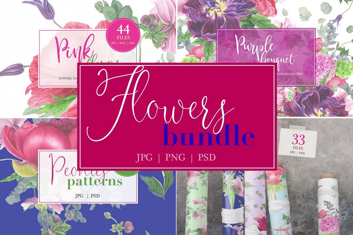 Flowers bundle example image 1