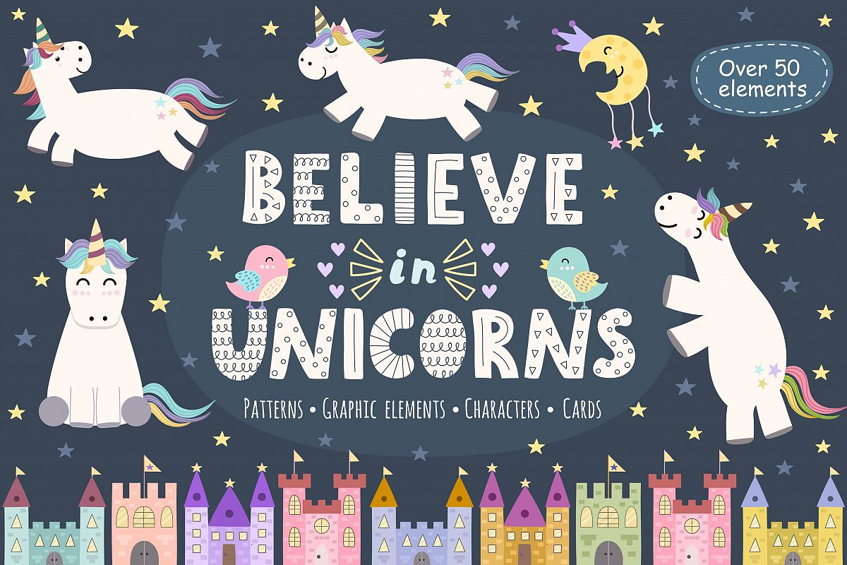 Believe in Unicorns Collection example image 1