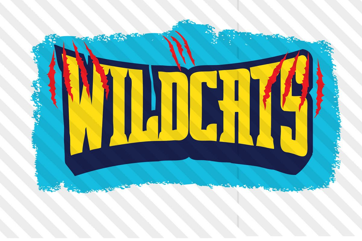Football,Svg,cricut,silhouette,wildcats,vector,clip art,dxf example image 1