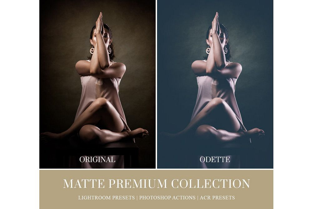 MATTE LIGHTROOM PRESETS, PHOTOSHOP ACTIONS AND ACR PRESETS example image 1