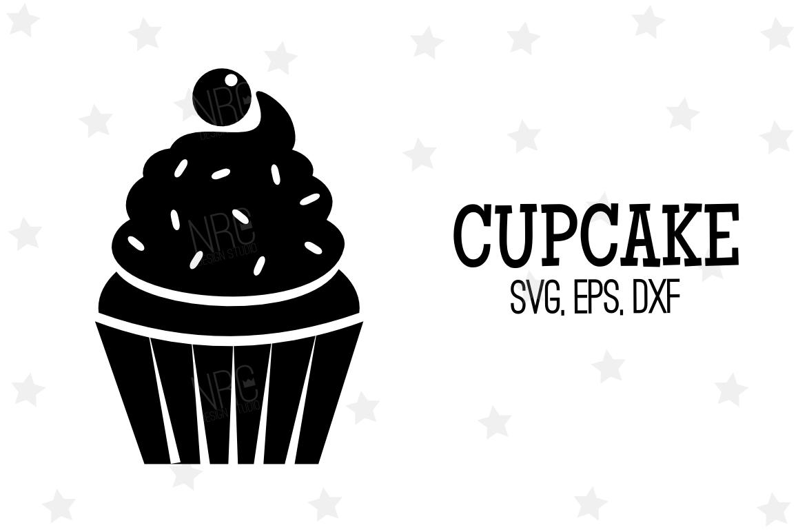 Cupcake SVG File, V3 example image 1