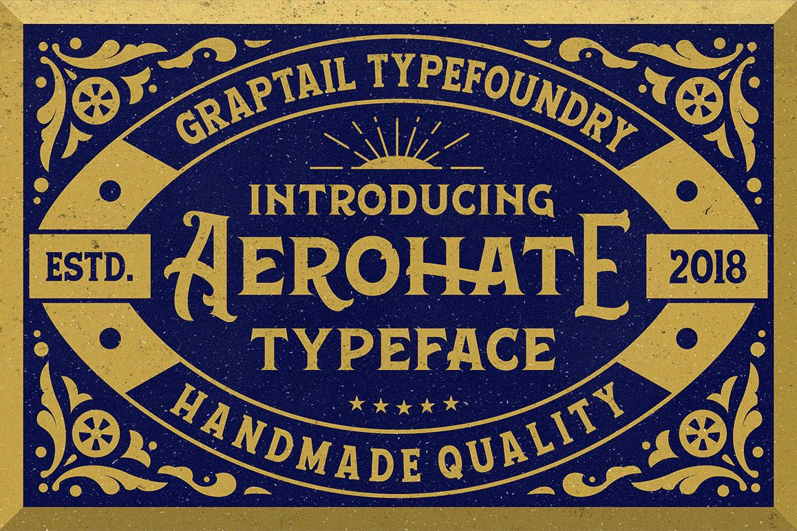 Aerohate Typeface example image 1