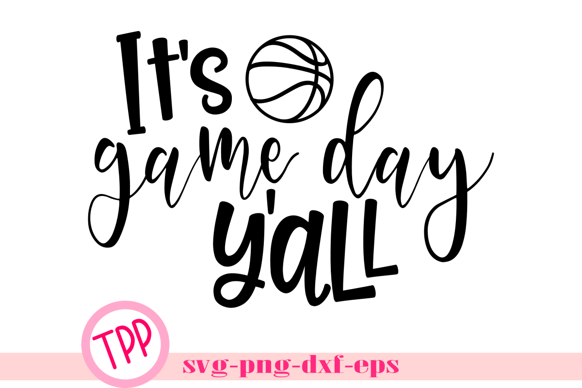 Basketball svg, Game Day svg, Game Day Yall example image 1