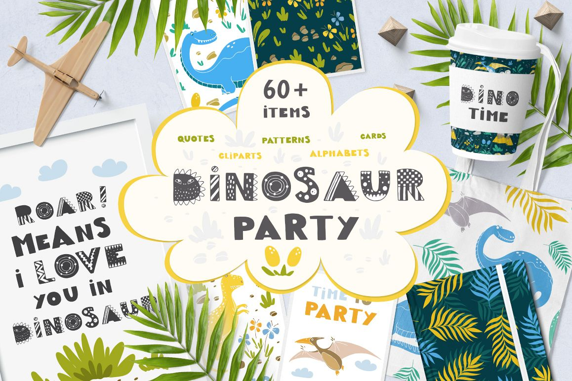 Dinosaur Party collection! example image 1
