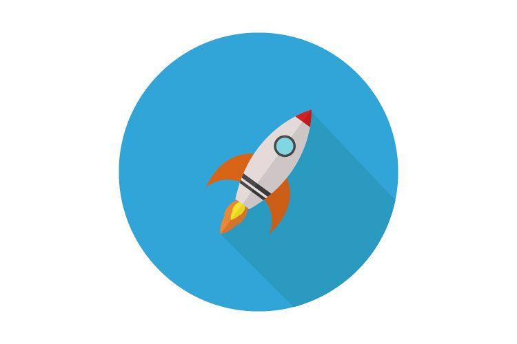 Rocket icon example image 1