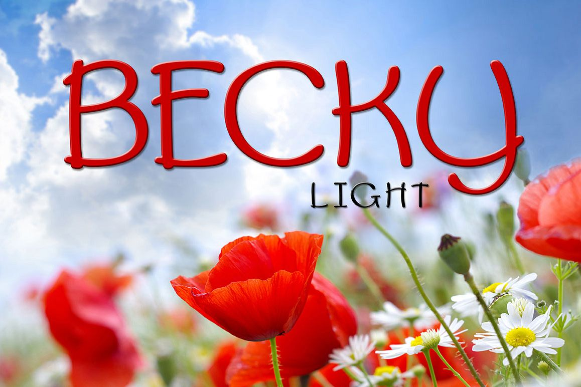 Becky Light example image 1