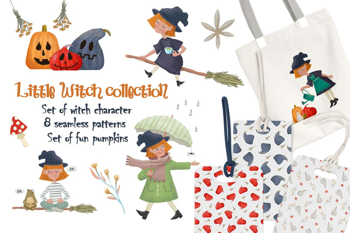 Little Witch collection example image 1
