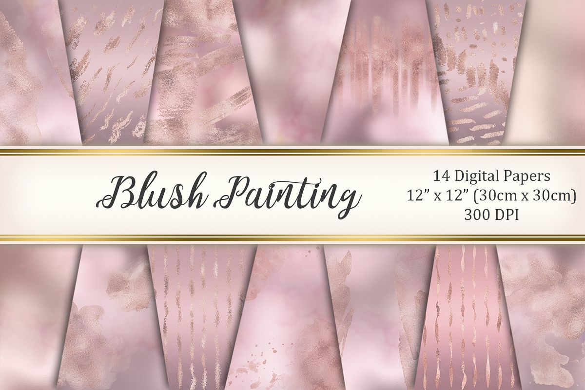 Blush painting example image 1