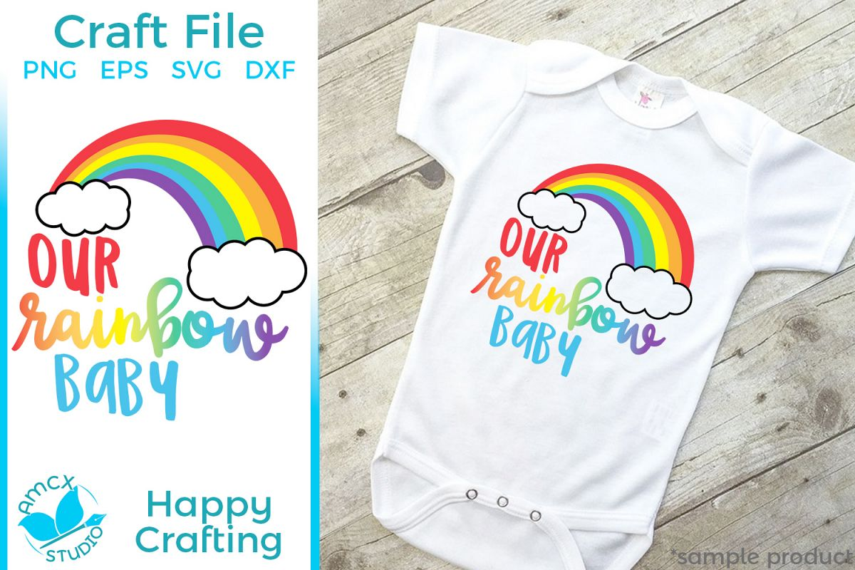 Our Rainbow Baby - A Sweet Baby Craft File example image 1