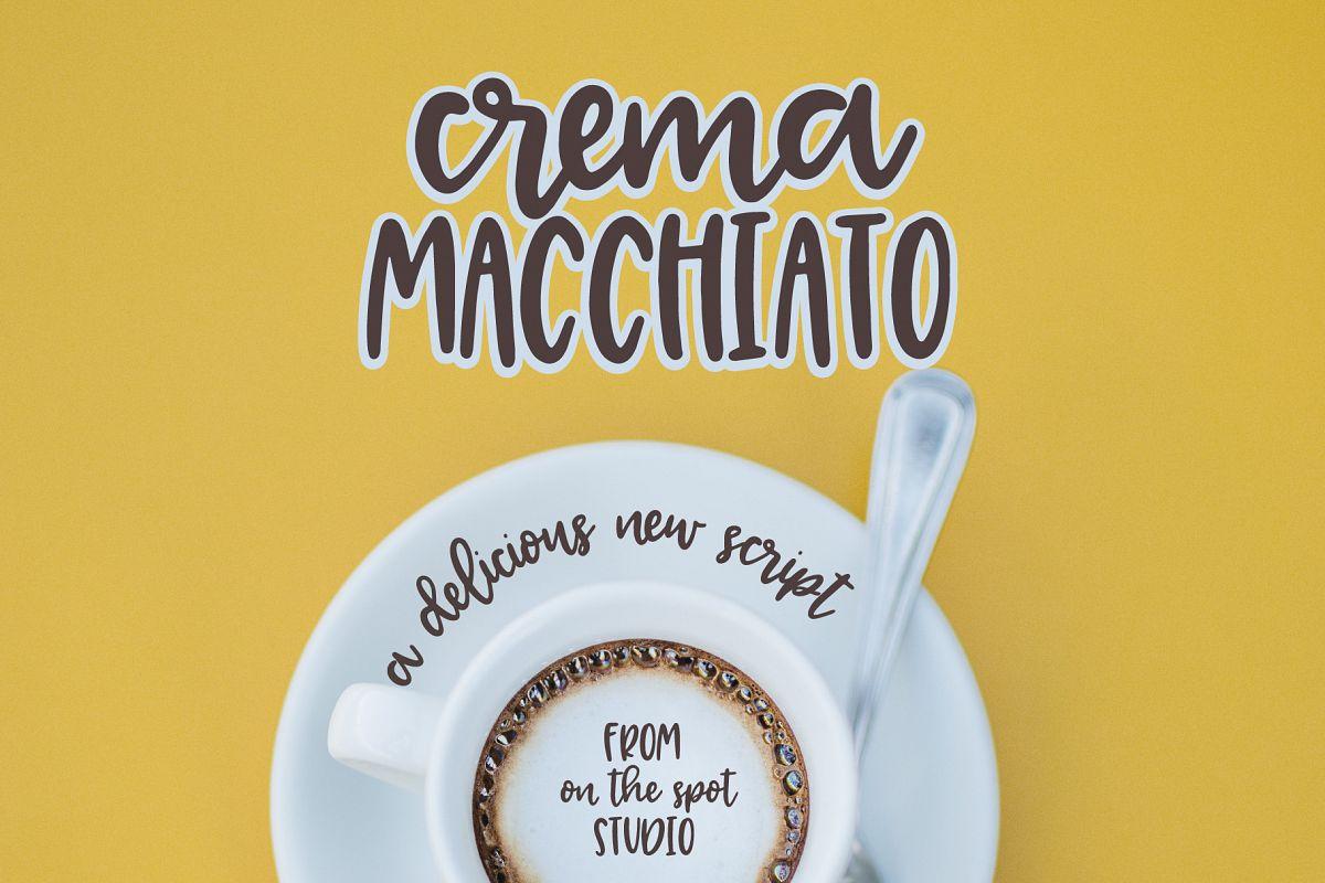 Crema Macchiato example image 1