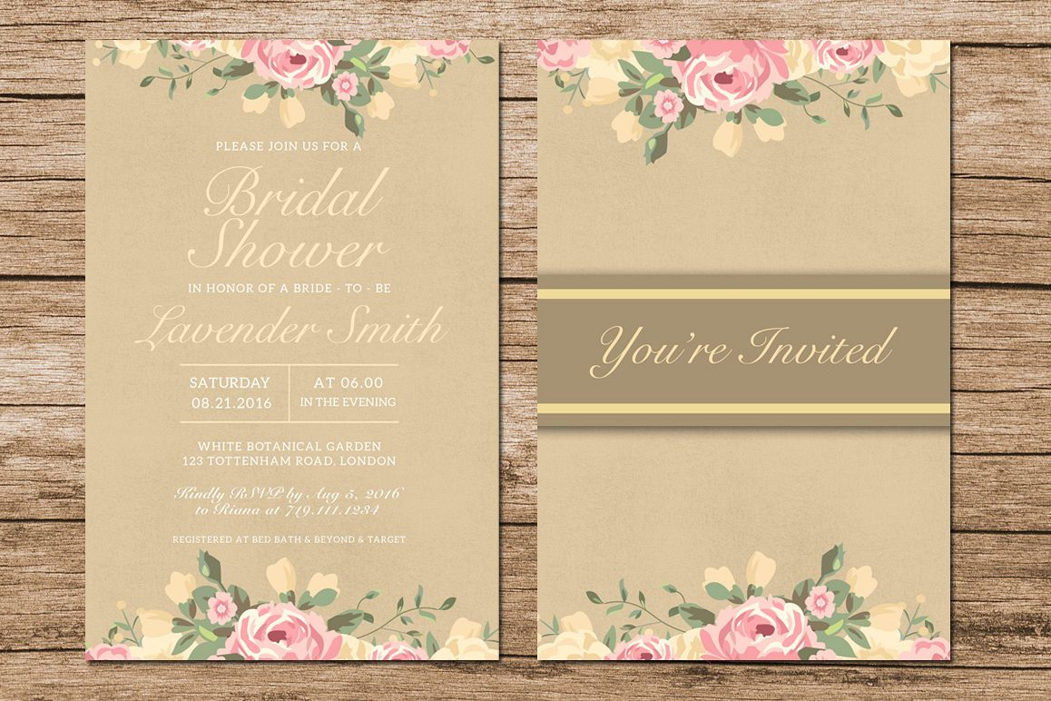 Bridal Shower Invitation example image 1