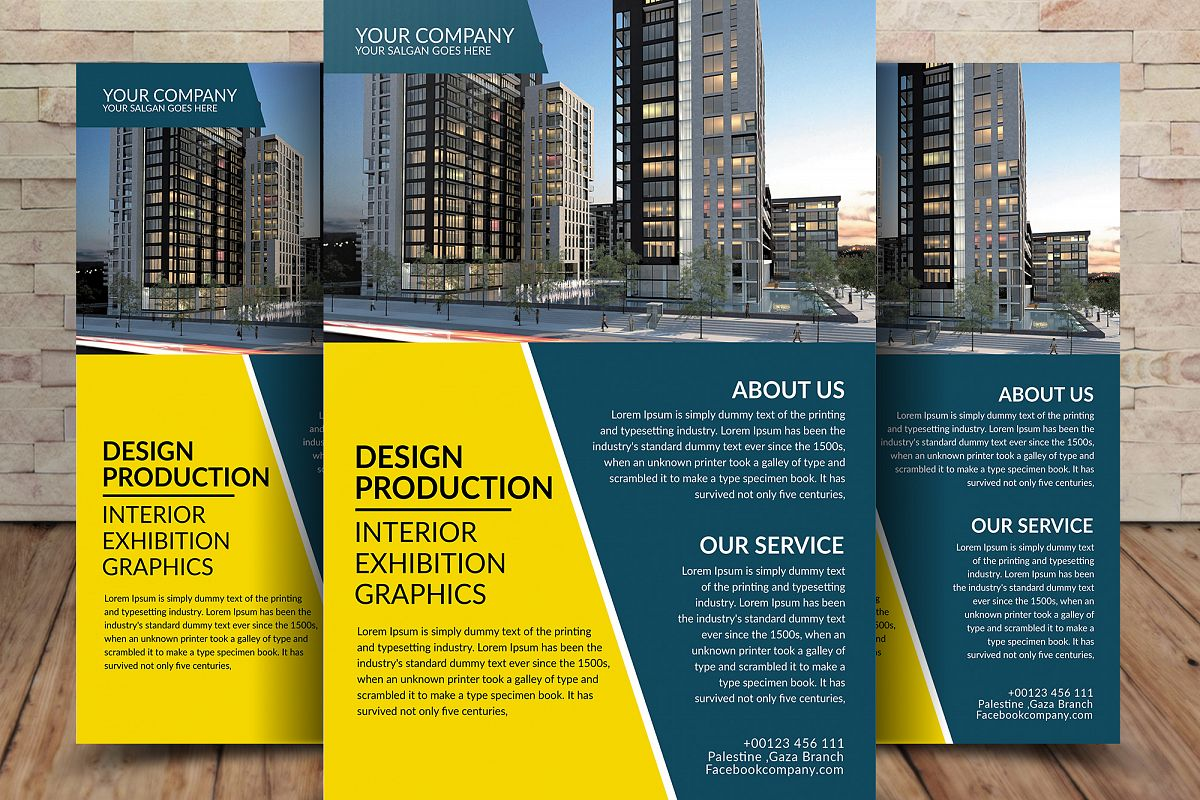 Business Company Flyer example image 1