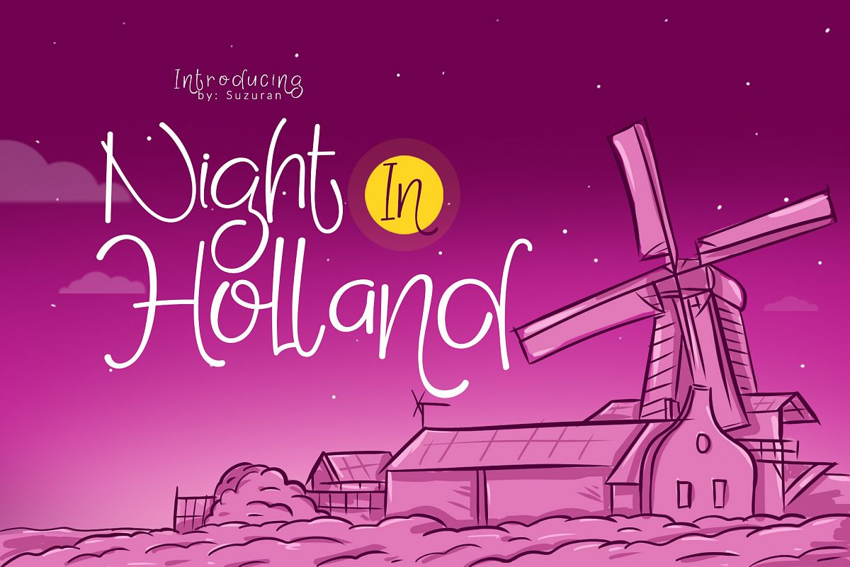 Night in Holland example image 1