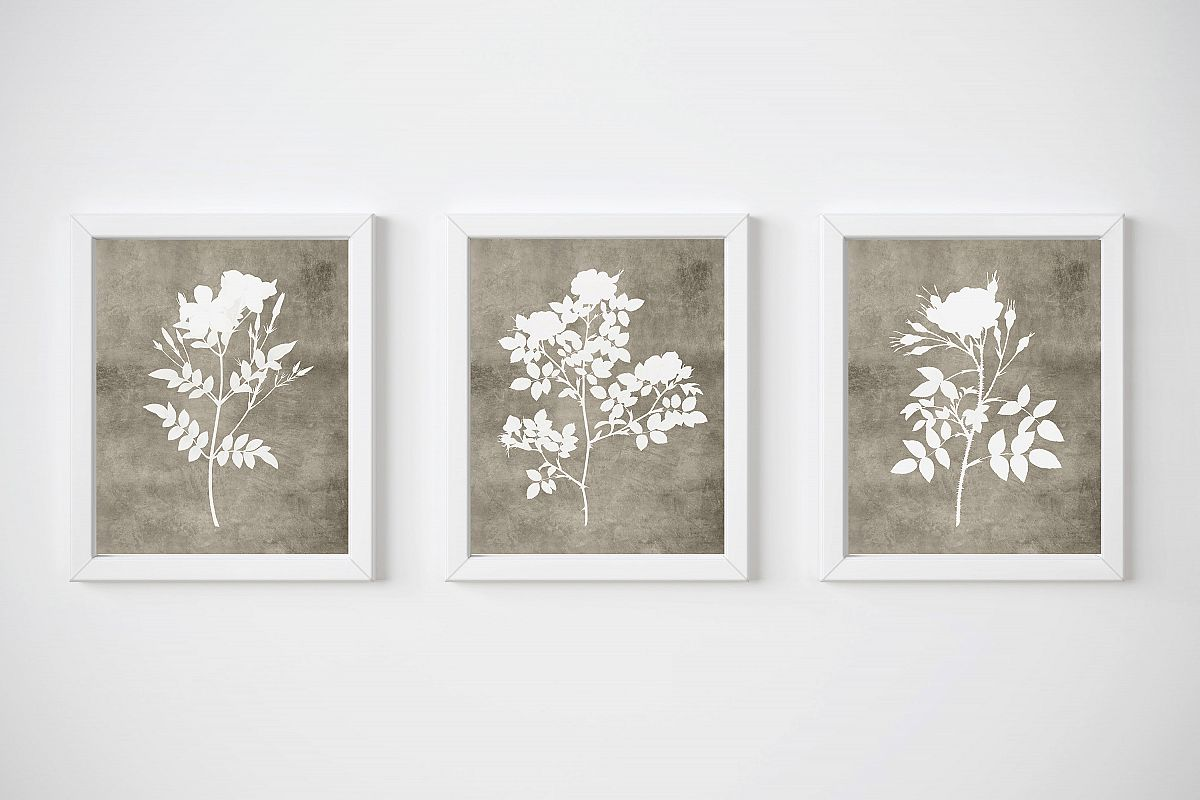 Rustic Printable Wall Art, Modern Rustic Wall Decor
