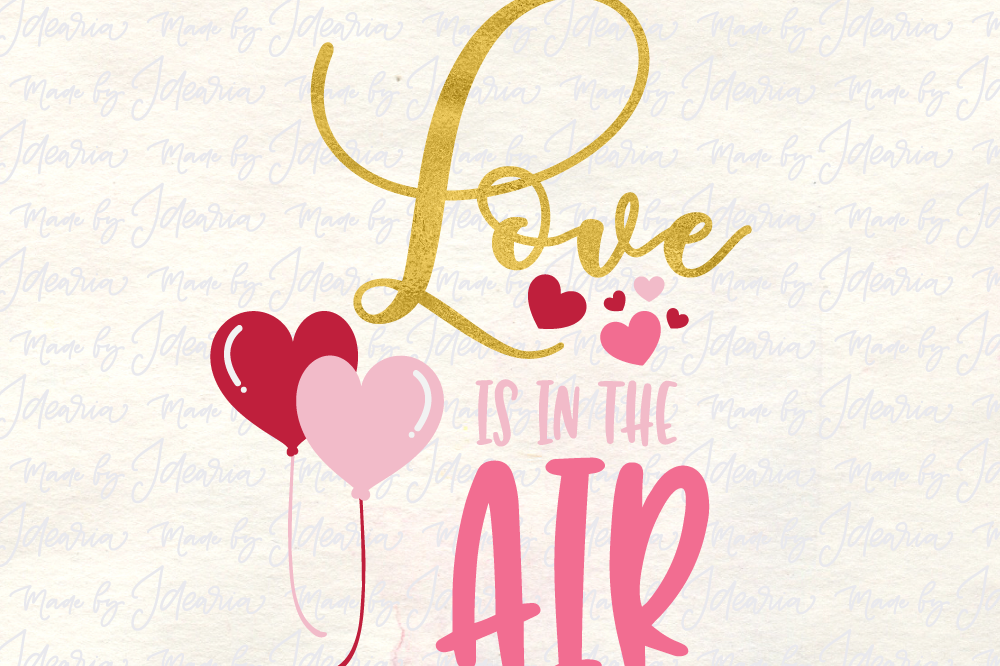 Love Air Svg Heart Svg Valentine Svg Love Svg Valentines Day Svg
