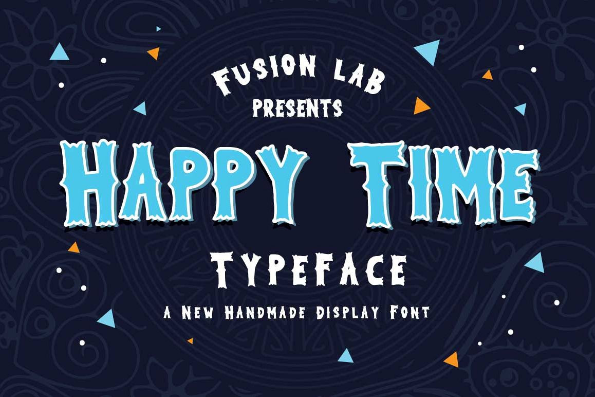 Happy Time Typeface example image 1