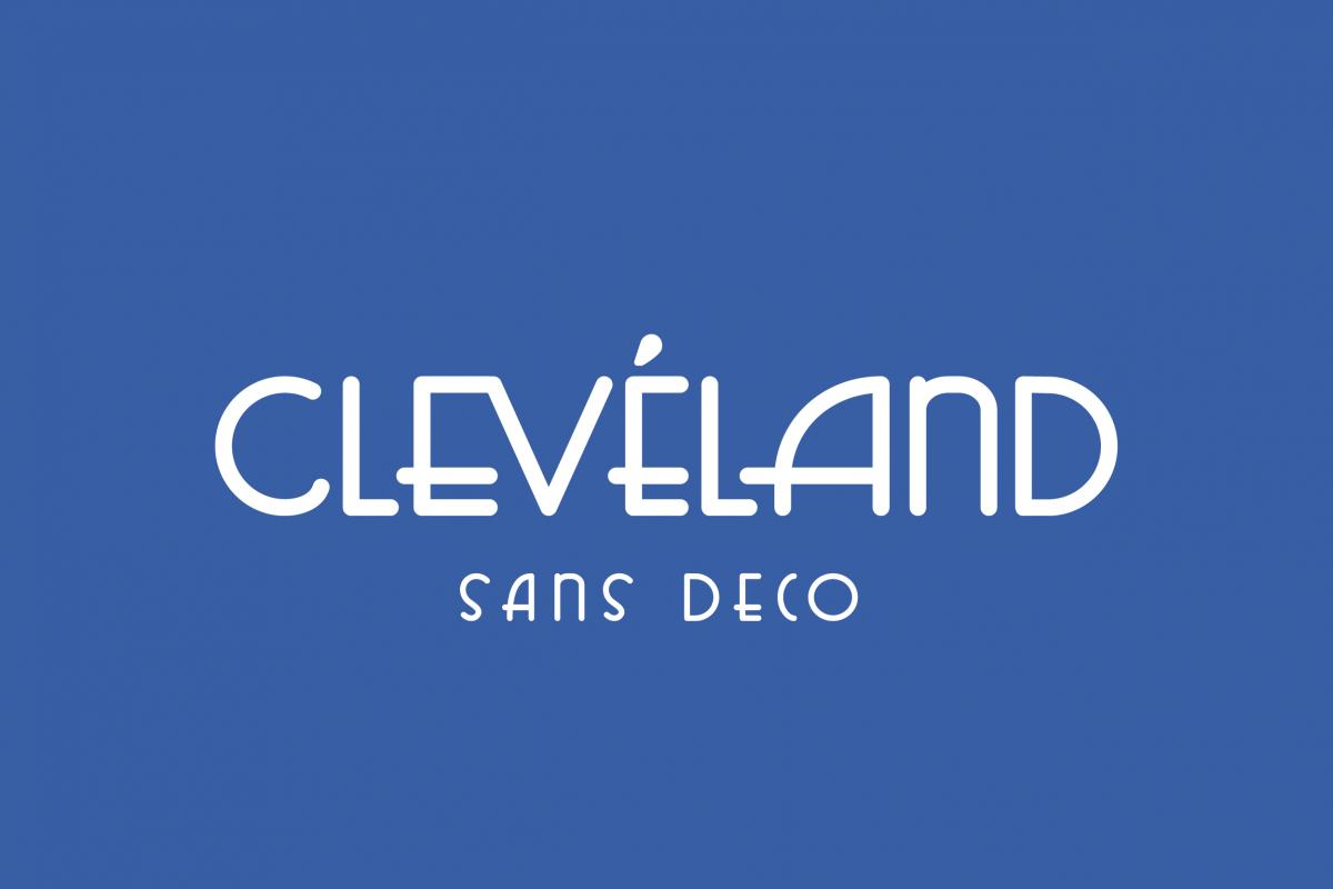 Cleveland - Sans Deco example image 1