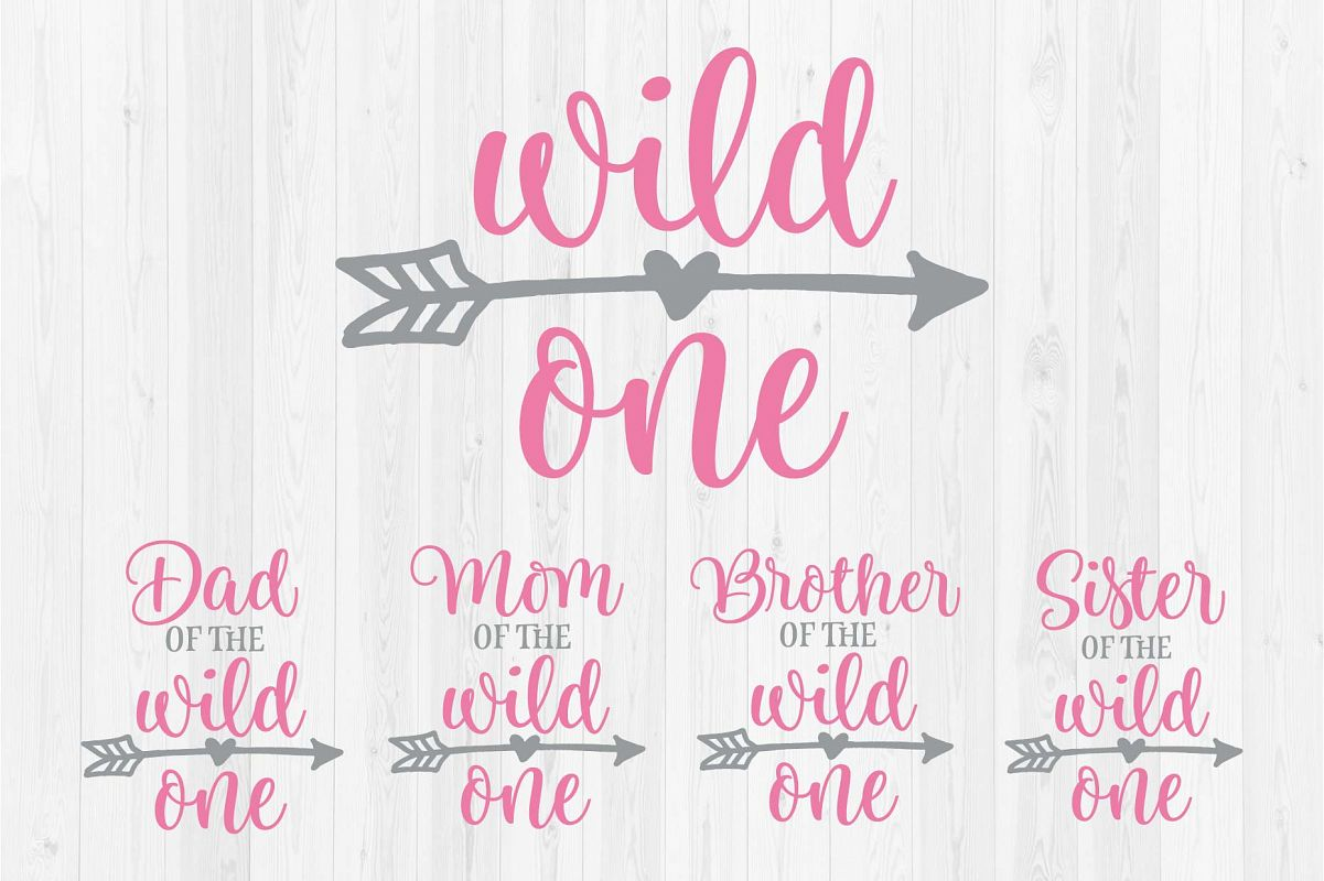 005d4aeb Wild One - Mom, Dad, Sister, Brother of the Wild One - First Birthday ...