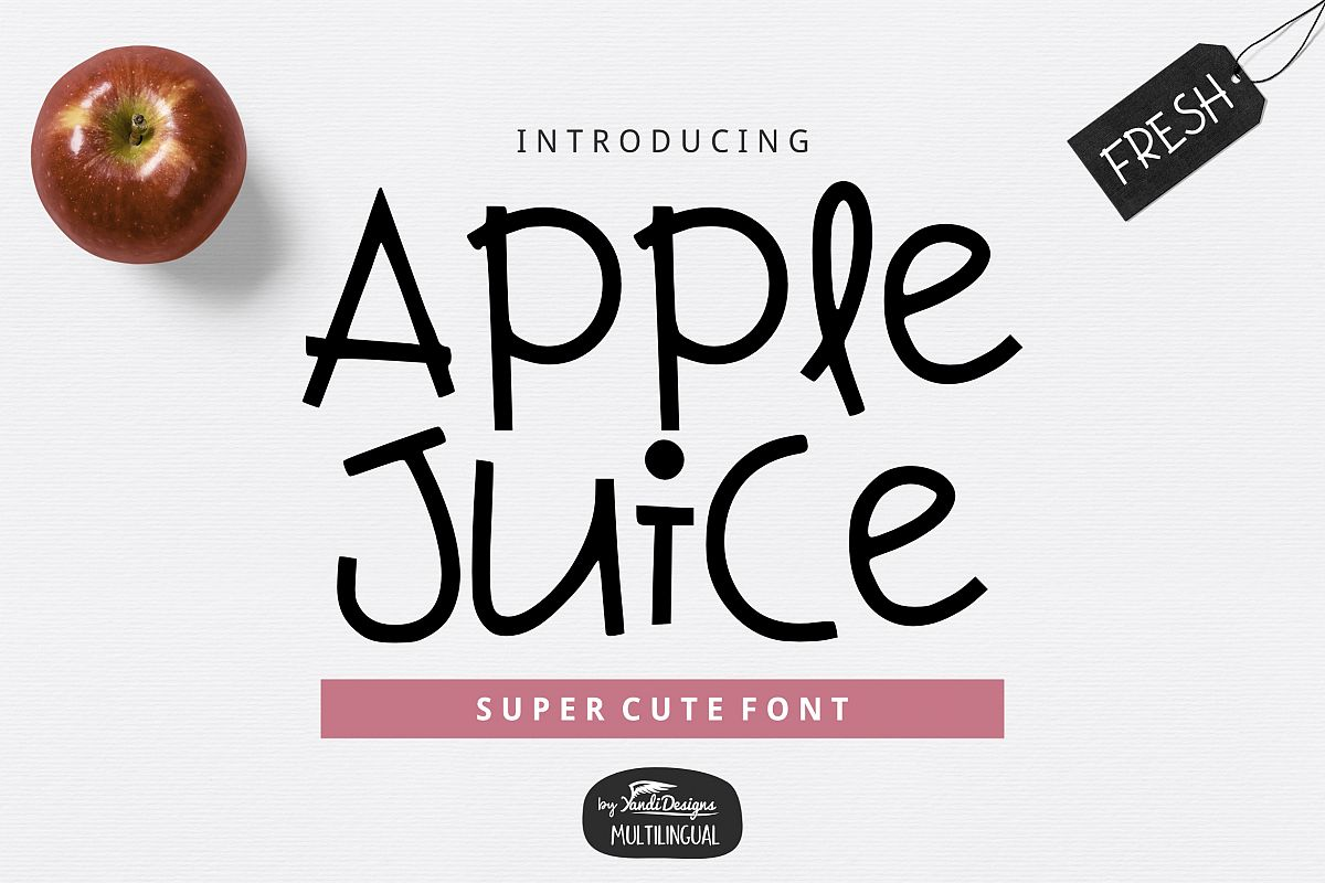 Apple Juice Font example image 1