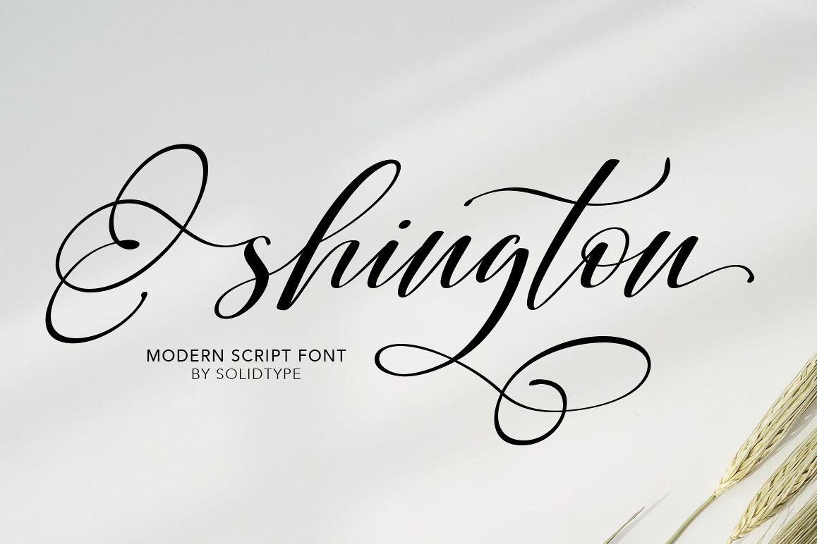 Shington Script example image 1